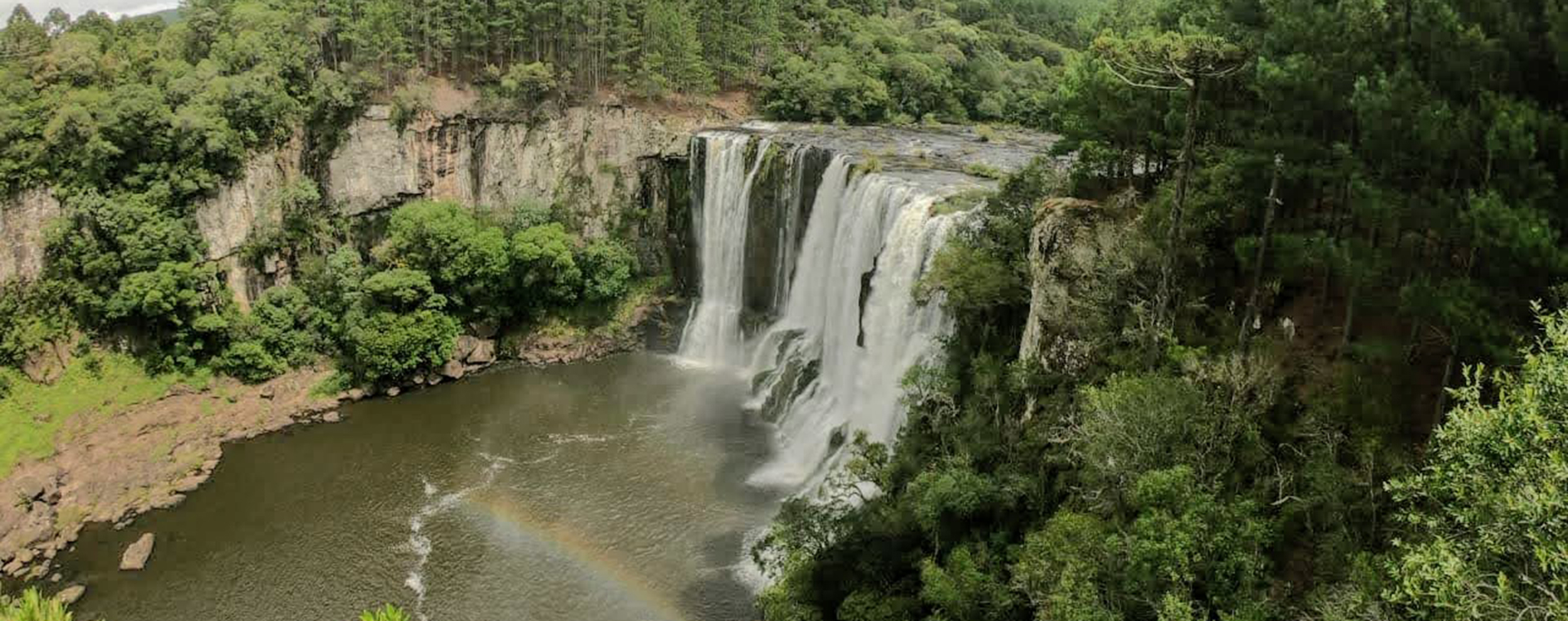 Circuito de Cachoeiras e Cascatas em Bom Jesus no Rio Grande do Sul